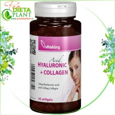 Acid hialuronic plus Colagen 60 cps