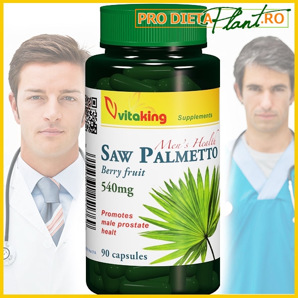 PALMIER PITIC (SAW PALMETTO) Extract 540 MG (90 cps / 1 pe zi) Tratament Naturist Prostata