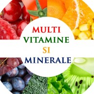 Multi VITAMINE & MINERALE Copii, Adolescenti, Adulti, Seniori, SPORTIVI